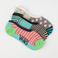 Vans Soltis Canoodle Womens No Show Socks Black One Size For Women 24774910001