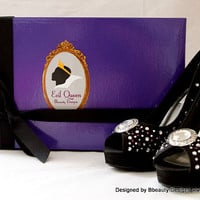 "Evil Queen ""Mirror Mirror"" Adult Pair Shoes Dress Shoes Heels Custom Made"