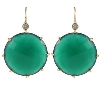 Andrea Fohrman Faceted Onyx Earring