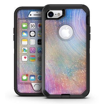 The Swirling Tie-Dye Scratched Surface - iPhone 7 or 7 Plus OtterBox Defender Case Skin Decal Kit