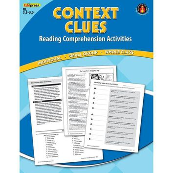 CONTEXT CLUES COMPREHENSION BK BLUE