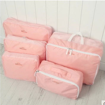 Beauty Hot Sale Hot Deal On Sale Set Clothing Underwear Storage Travel Shirt Make-up Bag [6268655302]