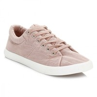 Rocket Dog Womens Dusty Pink Campo Beach Canvas Trainers