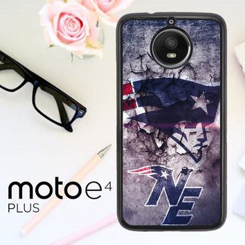 New England Patriots Nfl X4844 Motorola Moto E4 Plus Case