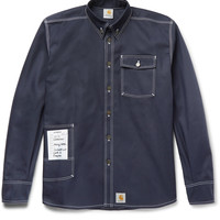 Vetements - + Carhartt Oversized Cotton-Blend Twill Overshirt
