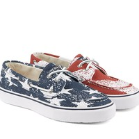 Sperry Men´s Bahama Stars & Stripes Boat Shoes | Dillards