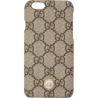 Beige 'GG' Supreme iPhone 6 Case