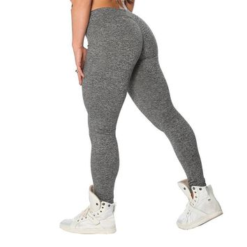 Casual Push Up Women Summer Workout Polyester Leggings
