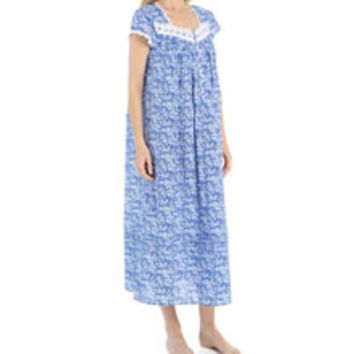 Eileen West 5415941 Seaside Floral Ballet Nightgown