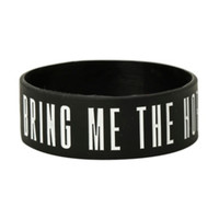 Bring Me The Horizon Saved My Life Rubber Bracelet