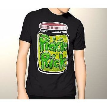 Rick and Morty Shirt, Pickle Rick in a Jar S-5XL Graphic T-Shirt