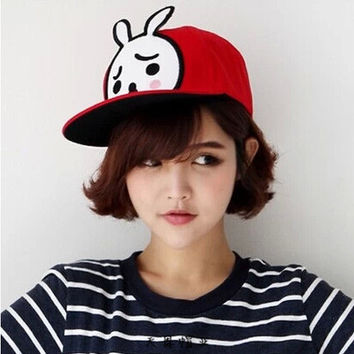 Korean Embroidery Cartoons Children Baseball Cap Hats [4989708996]