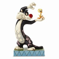 Jim Shore Looney Tunes Sylvester And Tweety Figurine