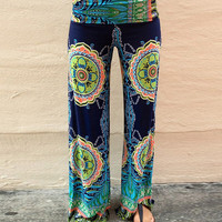 Printed Yoga Pants