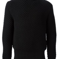 Raf Simons Sterling Ruby textured sweater