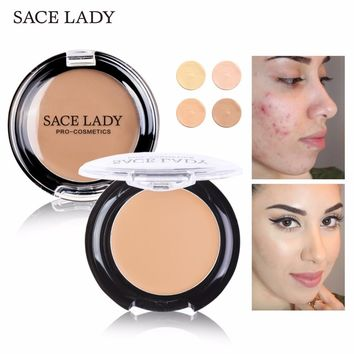 SACE LADY Concealer Full Cover Cream Facial Make Up Waterproof Foundation Face Contour Makeup Pores Corrector Brand Eye Cosmetic