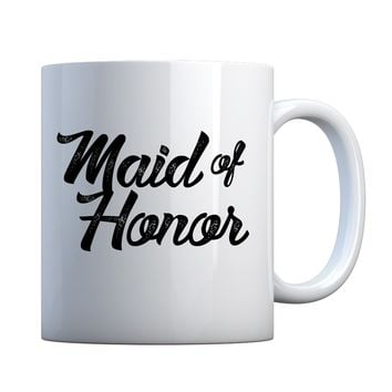 Mug Maid of Honor Ceramic Gift Mug