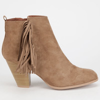QUPID Salty Womens Booties   Boots