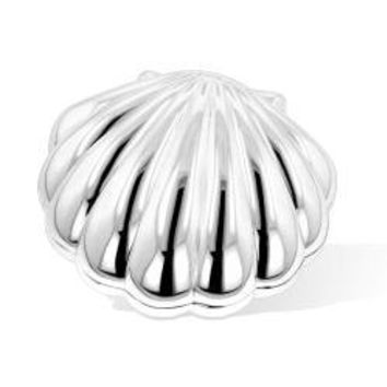 Silver Shell Jewelry Box | Overstock.com