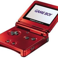 Nintendo Game Boy Advance SP System - Flame Red (Pre-owned)