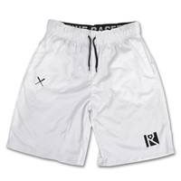 PREMIUM POLY SHORTS (WHITE)