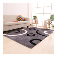 Top Grade Elastic Silk Pattern Carpet Mat   03  120*170cm