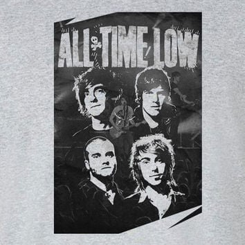 All Time Low band poster t-shirt tee