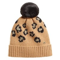 Fiercely Spotted Leopard Print Beanie
