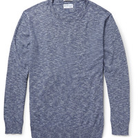 Gant Rugger - Marled Crüe Cotton Sweater | MR PORTER