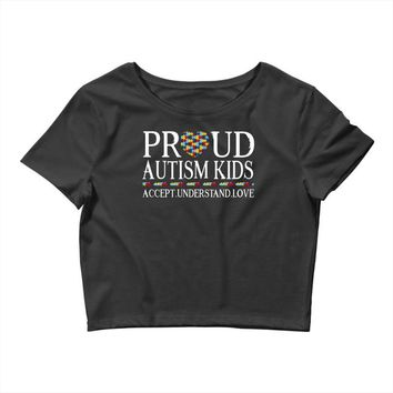 Proud Autism Kids Crop Top