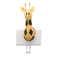 Animal Head Wall Hook by Fiona Walker - Baby Room Decor
