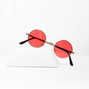 Free Love Round Shades - Red