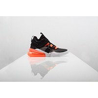 AA QIYIF Nike Air Force 270 - Black/Hyper Crimson/Wolf Grey