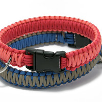 Paracord Dog Collar (Wide)