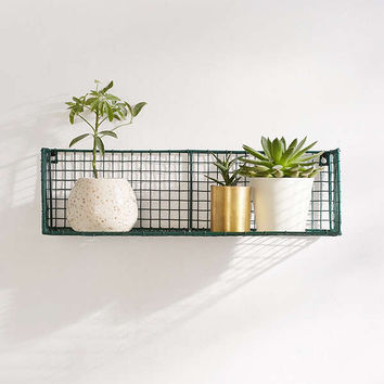 Caleb Wire Grid Wall Shelf | Urban Outfitters