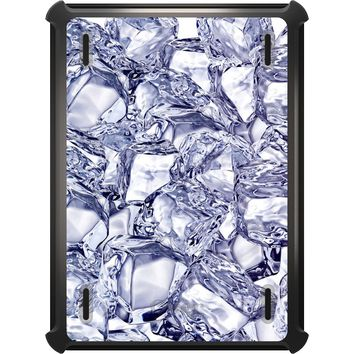 DistinctInk™ OtterBox Defender Series Case for Apple iPad - Crystal Clear Ice