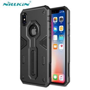 High Impact Hybrid Armor Mobile Phone Case For iPhone X