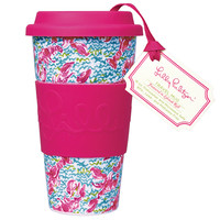 Travel Mug - Lobstah Roll - Lilly Pulitzer