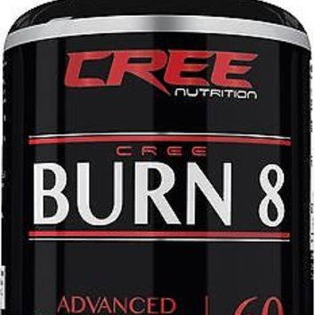 CREE Nutrition Burn 8 Supplement Weight Loss Appetite Support & Metabolism Boost