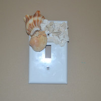 Light Switch Cover Seashell Beach Themed Beach Home Decor