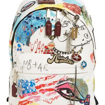 MARC JACOBS 'Collage' Canvas Backpack   Nordstrom