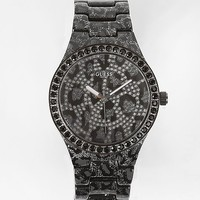 Guess Metallic Animal Print Watch - Women's Watches | Buckle