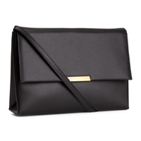 H&M - Clutch Bag - Black - Ladies