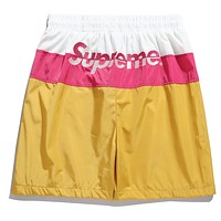 Boys & Men Supreme Fashion Casual Sport Shorts