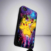 Case iphone 4 and 5 for pikachu pokemon by JamesRobyno on Etsy