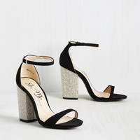 Jewel be Back Heel in Obsidian | Mod Retro Vintage Heels | ModCloth.com