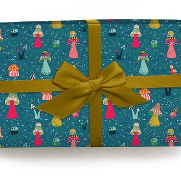 Mushrooms - Wrapping Paper
