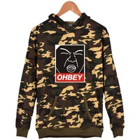 Image printing set head hooded sweater men and women