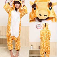 Unisex Adult Cosplay Kigurumi Animal Anime Costume Pajamas Pyjamas Sleepsuit