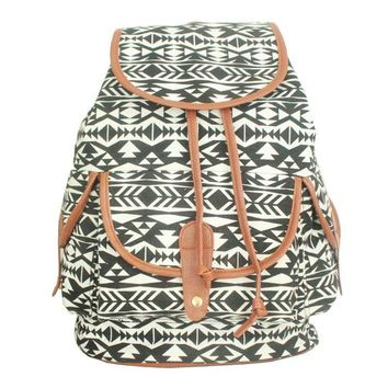 Comfort Hot Deal Stylish On Sale Back To School College Winter Canvas Print Casual Backpack [8070741127]